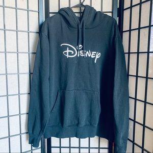 H&M Disney logo embroidered hoodie grey sz XL